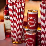 Campari debuted signature canned Negroni Sbagliatos for the Manhattan Cocktail Classic festivities at the 2013 Gala (photo credit: Virginia Rollison)