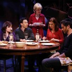 Carol Todd, Andrew Rein, Jill Eikenberry, Eleanor Handley, and Noel Joseph Allain in JERICHO by Jack Canfora, directed by Evan Bergman and produced by The Directors Company, at 59E59 Theaters