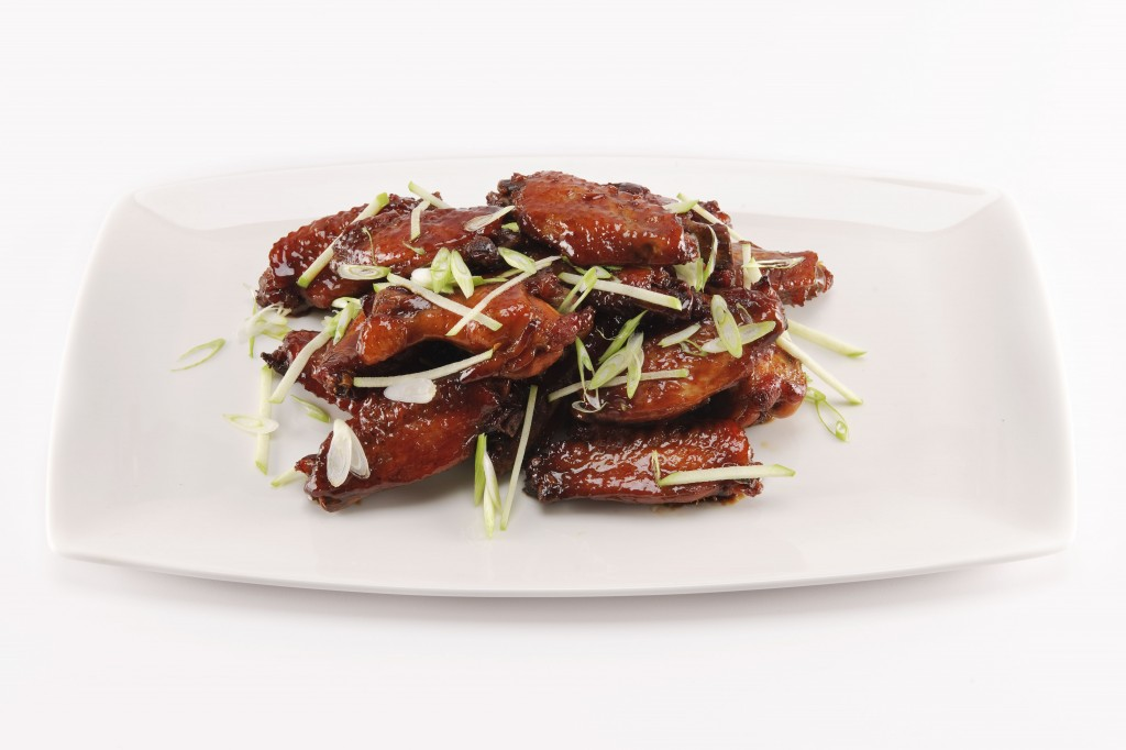 Superbowl Sin: Bourbon Apple Glazed Chicken Wings