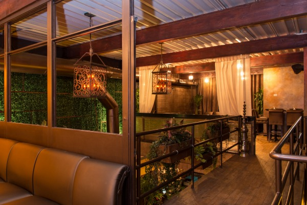 Pergola Upstairs