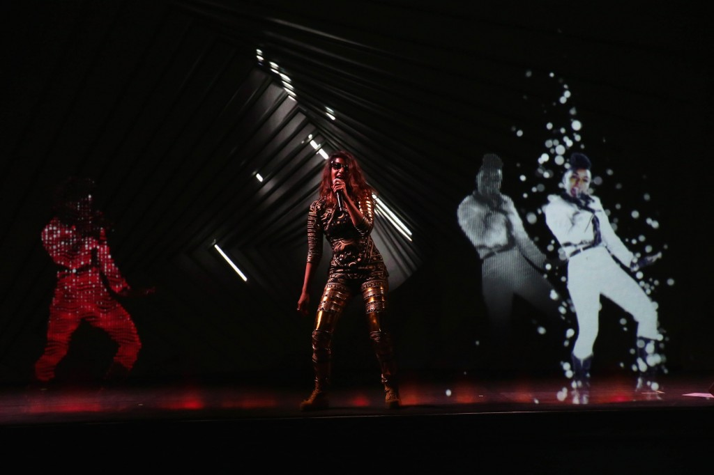 Audi, M.I.A., Janelle Monáe and Hologram Performances