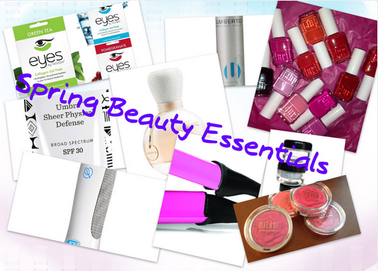 Top 10 Spring Beauty Essentials