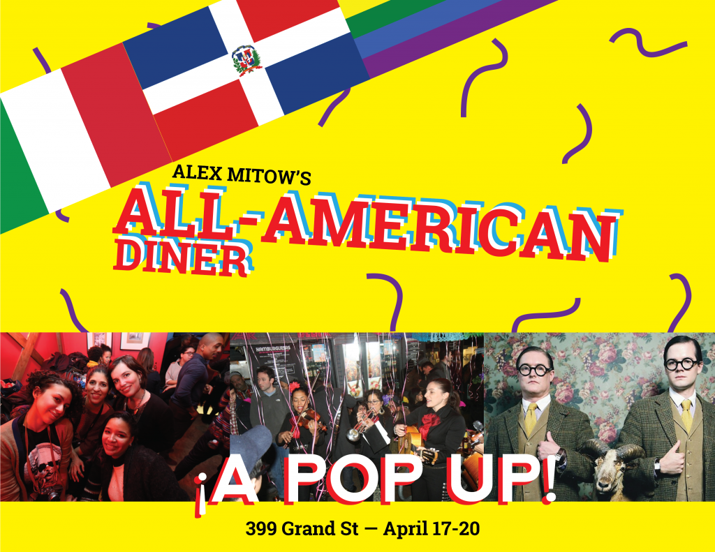 Alex Mitow's All-American Diner: A Pop Up!