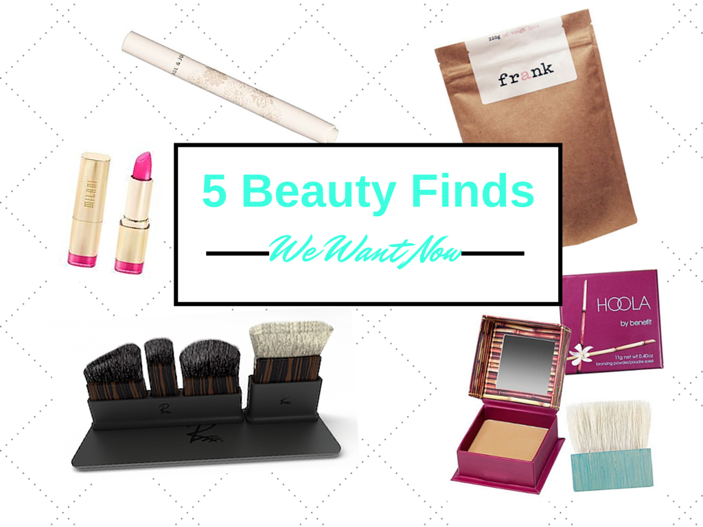 5 Beauty Finds We Want Now