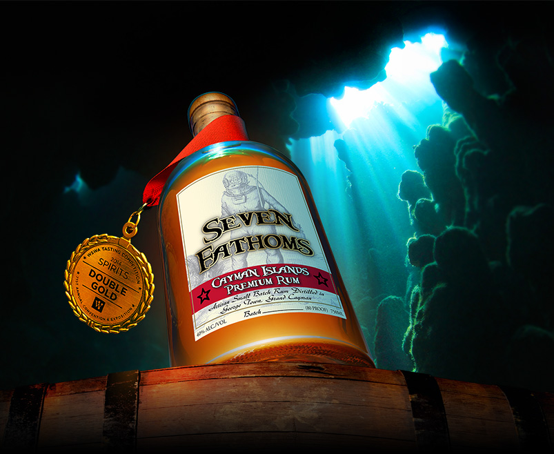 Seven Fathoms Rum: Cayman Islands' Sunken Treasure