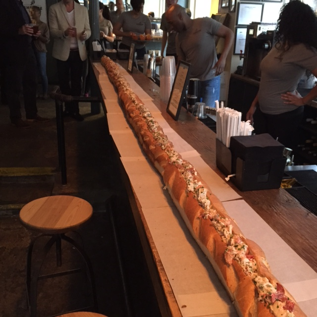20 foot lobster roll