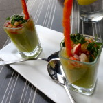 Lobster Gazpacho Shooters
