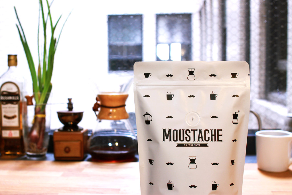 Moustache Coffee Club Delivers to Your Home