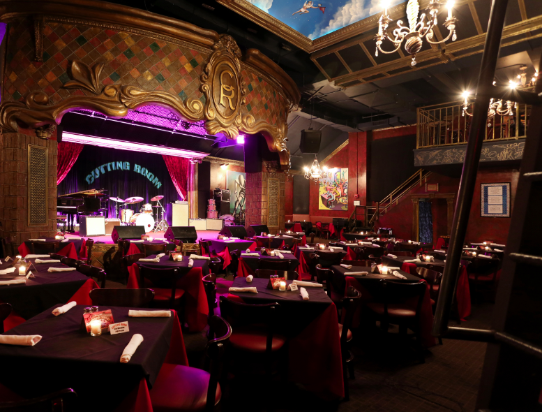 Behind the Music Notes at The Cutting Room