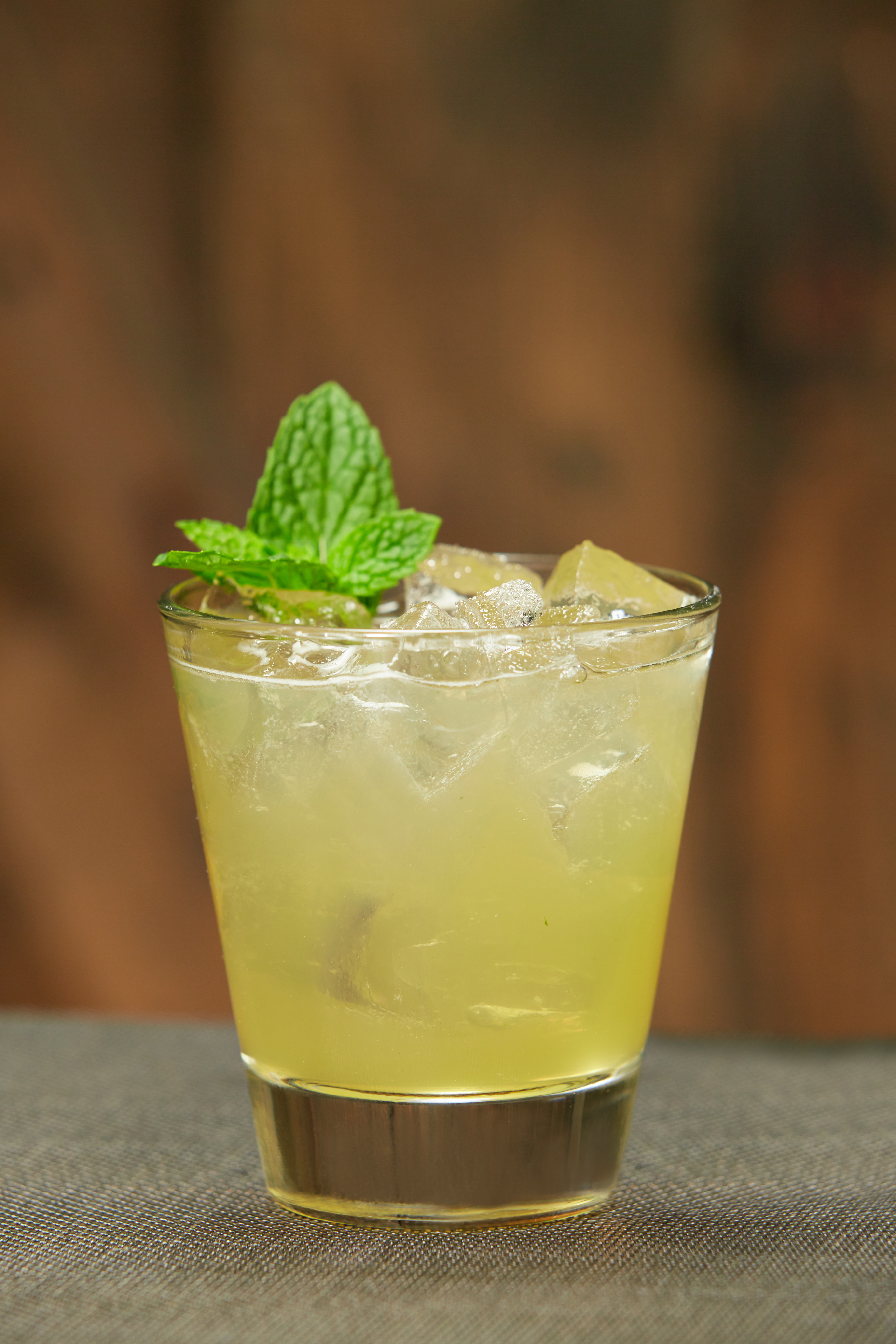 Modern Mint Julep (Courtesy of Hornitos Tequila )