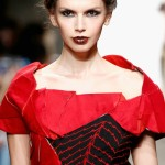 Dramatic, Structured Looks from Rohitava Banerjee's Nolcha NYFW Presentation