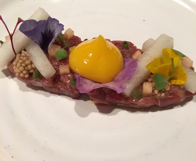 oiji steak tartare