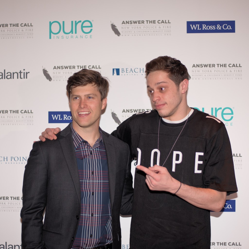 Colin Jost and Pete Davidson