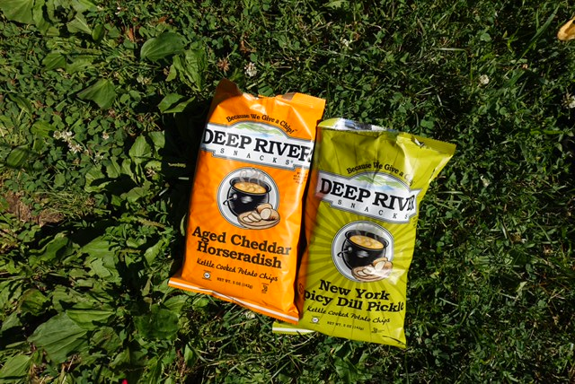 Girls' Day Out: Munching on Deep River Snacks