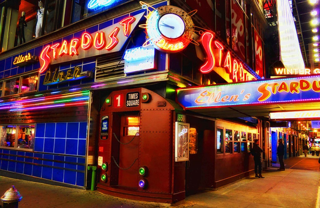 You Don't Need to be a Tourist to Check Out Ellen's Stardust Diner
