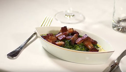 Make It Yourself: Creamed Spinach with Bacon