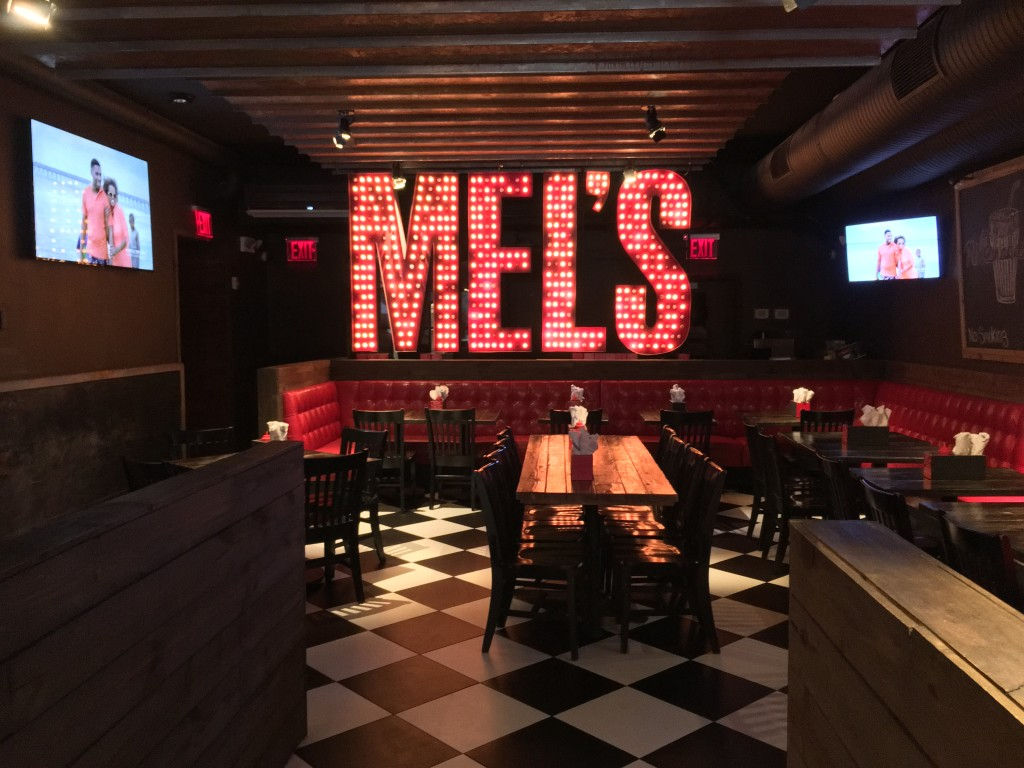 Mel's Burger Bar: Beer, Grub and Happiness