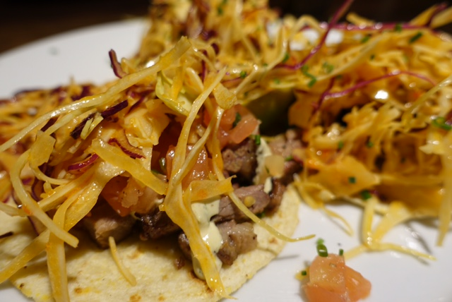 "Guy Fieri's ""Hall of Fame"" Brisket Tacos"