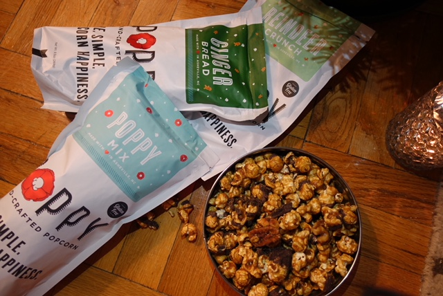 Girls' Night In: Poppy Popcorn Seasonal Treats