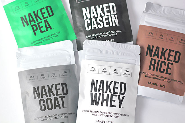 Clocking Fitness Goals with Naked Nutrition