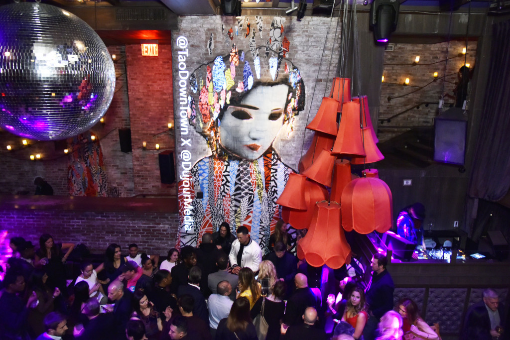 NEW YORK, NEW YORK - MARCH 26: A view of the atmosphere as Jason Binn And DuJour Media Celebrate April Cover Star Giancarlo Stanton At TAO Downtown on March 26, 2019 in New York City. (Photo by Eugene Gologursky/Getty Images for DuJour Media)