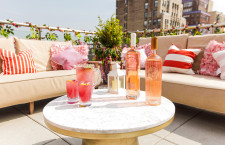 This Rooftop Transformed into the Rosé Destination of the Summer