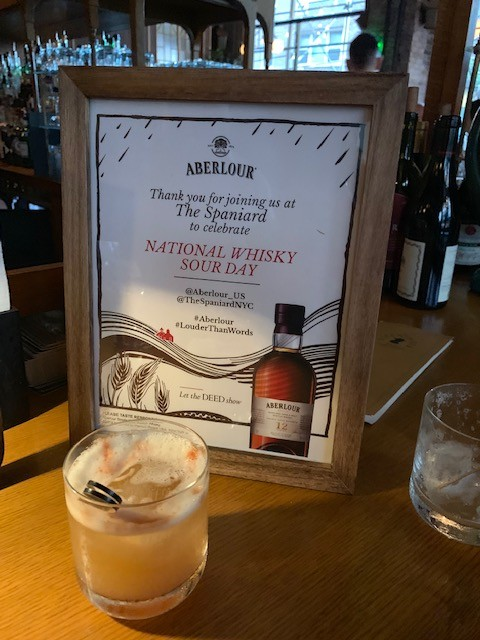 Celebrate National Whiskey Sour Day with Aberlour Whisky